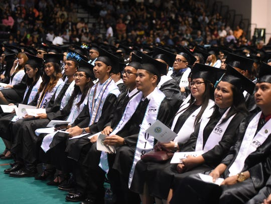 Over 400 graduates received a total of 462 degrees,