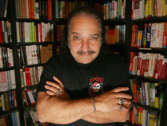 Ron Jeremy Signs His Book At Book Soup