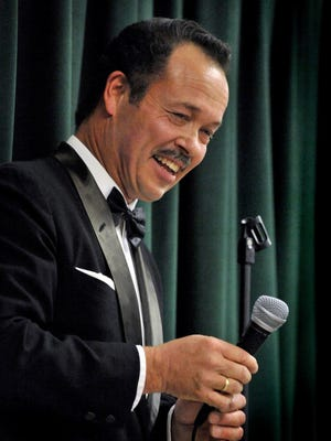 Jamie Hitchcock will sing Frank Sinatra songs at fundraiser for on Aug. 7 for the Visalia Players.