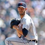Detroit Tigers starting pitcher Rick Porcello.