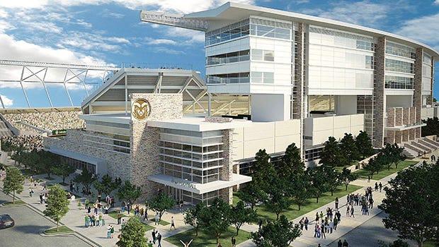 CSU stadium rendering
