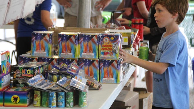 As of Monday, the city of Newton had issued 11 permits for fireworks stands.