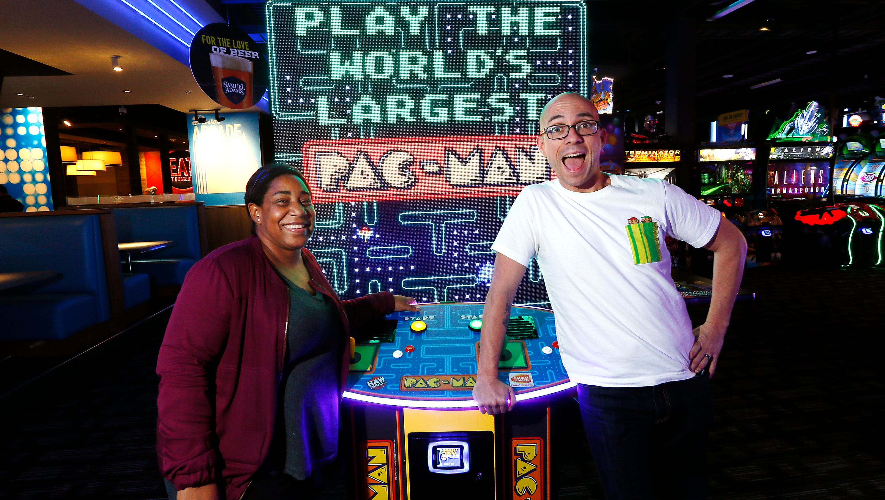 Dave & Buster's is a 40, sq. ft. upscale arcade emporium filled with three stories of entertainment, including more than classic and modern video and arcade games. Today's Groupon grants chips and 10 bonus chips worth of playing bestnfil5d.ga: $