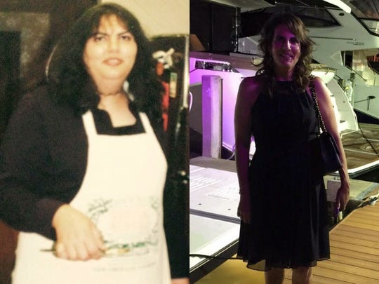 Dr. Maria Bendeck lost more than 50 pounds after weighing 225.