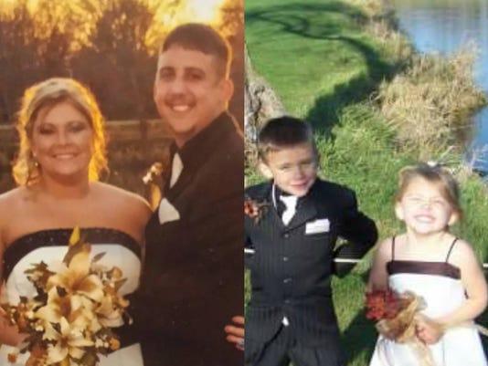 Ryan Thompson and family