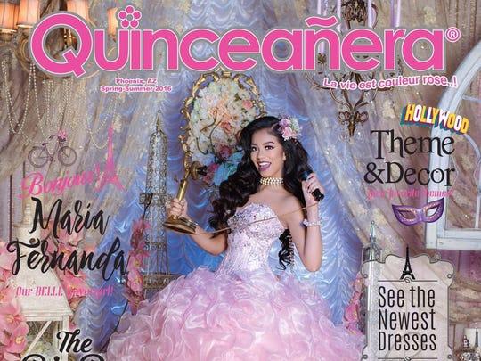 "Miss Cover Girl 2016 Maria Fernanda Garcia. La pasada portada de ""Quinceañera""."