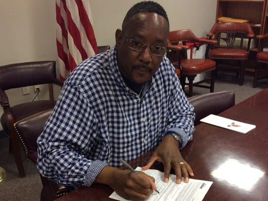 Wilmington native Steve Washington is running to replace retiring Sen. Harris McDowell, D-Wilmington North, in the November 2020 election.