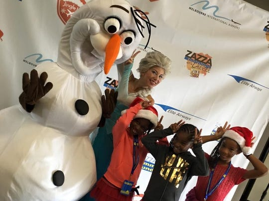 Jingle Jet takes Brevard families for a ride to the North Pole. It's a volunteer event that gives needy families a holiday they'll never forget.
