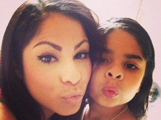 Blanca Rivera and her daughter, Anais.