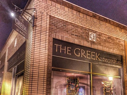 The Greek on Main opened in June of last year.