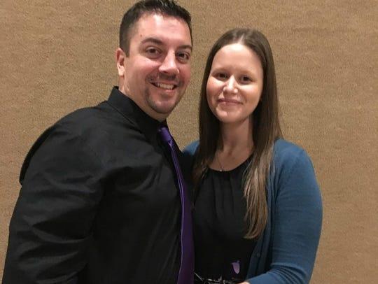 Joel Ihnotic and Tanya LaMontagne won Gance's Complete