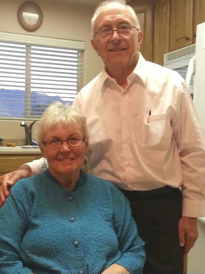 Returned missionaries Brother Tony and Sister Marilyn Oxborrow are scheduled to speak at The Church of Jesus Christ of Latter-day Saints Stake Center in Mesquite Sunday.