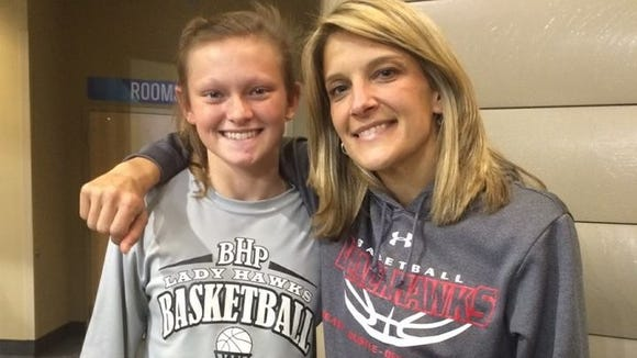 North Buncombe girls basketball coach Tami Ramsey and