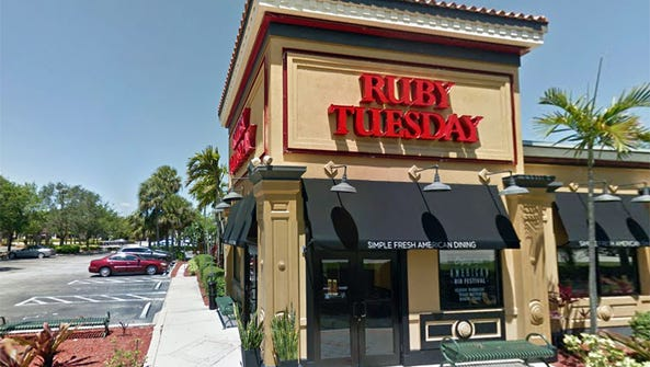 The last Ruby Tuesday restaurant in Naples closed Saturday