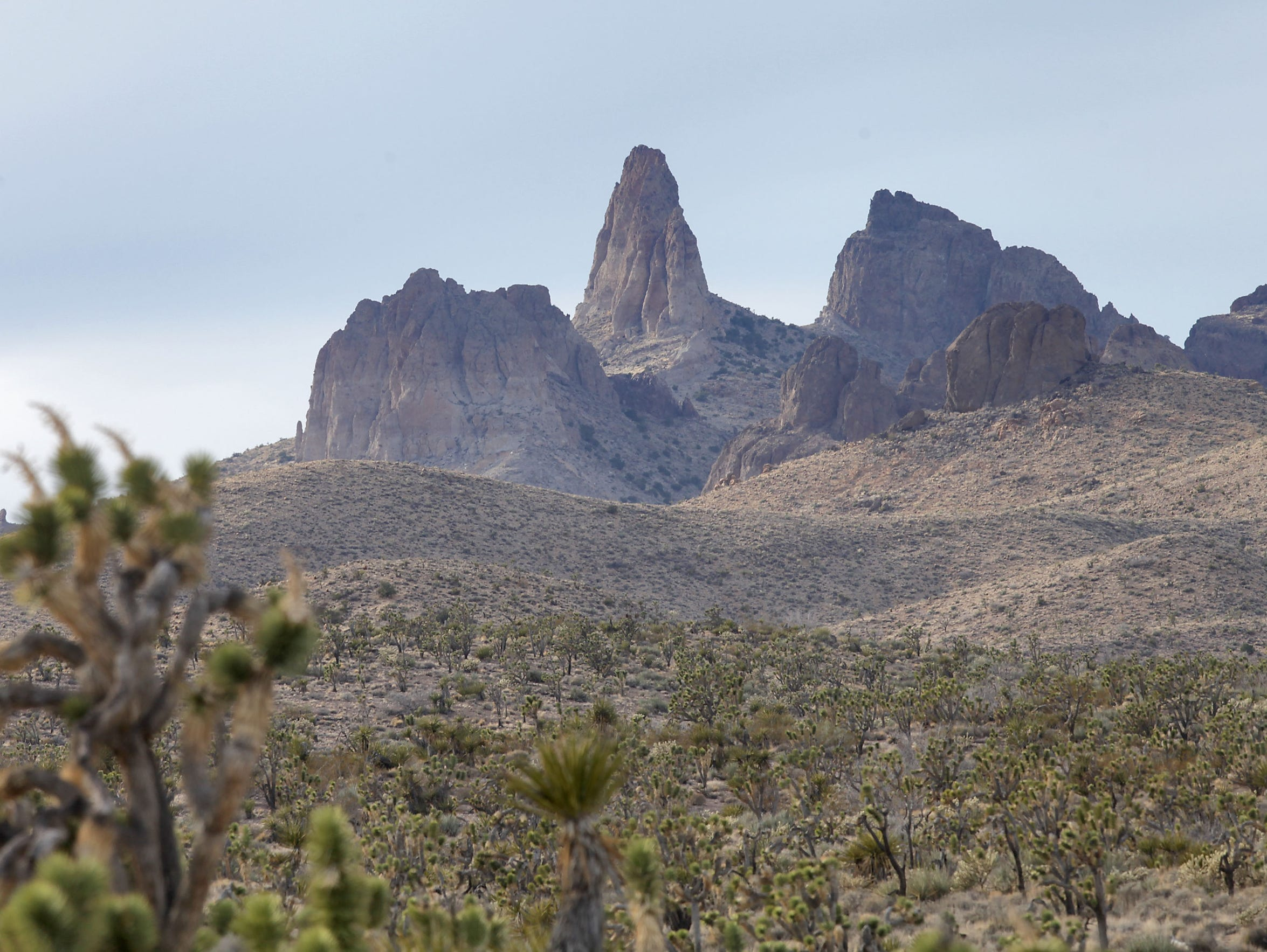 The Castle Peaks got their name because they resemble