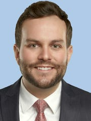 Lawyer Blake Downey, new member of the El Paso Downtown Management District Grant Program Review Committee.