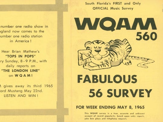WQAM, a Top 40 station in Miami, had a devoted local