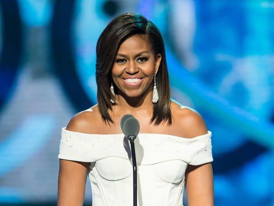 Terrific Sleek Michelle Obama Celebrates Black Girls Short Hairstyles Gunalazisus