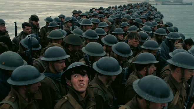 """""""Dunkirk"""" tells the story of the famous World War II battle."""