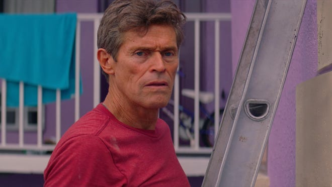 """Willem Dafoe shines as a motel manager in """"The Florida Project."""""""