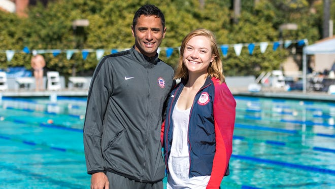 Married since 2014, Amro El Geziry and Isabella Isaksen claimed the silver medal at the Los Angeles tour stop of modern pentathlon's World Cup series.