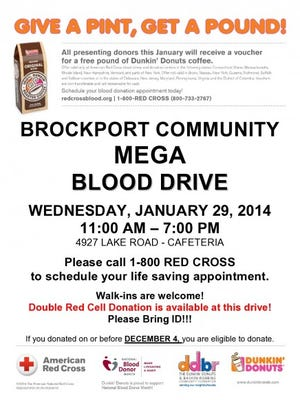 Brockport Community Mega Blood Drive