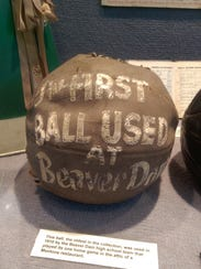 The first basketballs were meant to be thrown, not