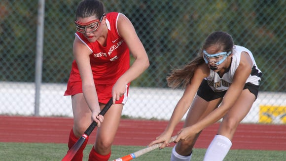North Rockland field hockey Jenna Fox