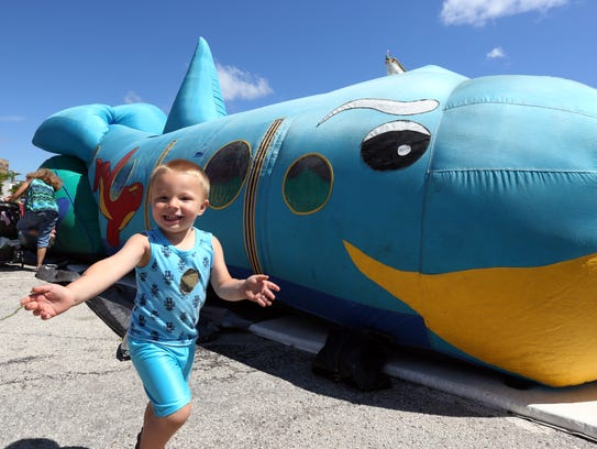 Scenes from the Second Annual Subfest in downtown Manitowoc