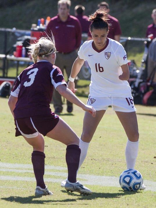 Florida State University, FSU, Women's Soccer, NCAA Women's Soccer Championship (Round 3) - Texas A&M @ Florida State University, Seminole Soccer Complex, 11/18/12