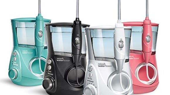The much sought-after Waterpik Aquarius Water Flosser.