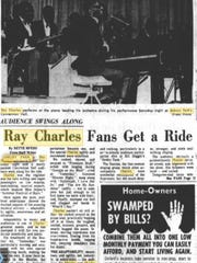 Ray Charles played Asbury Park Convention Hall in 1968