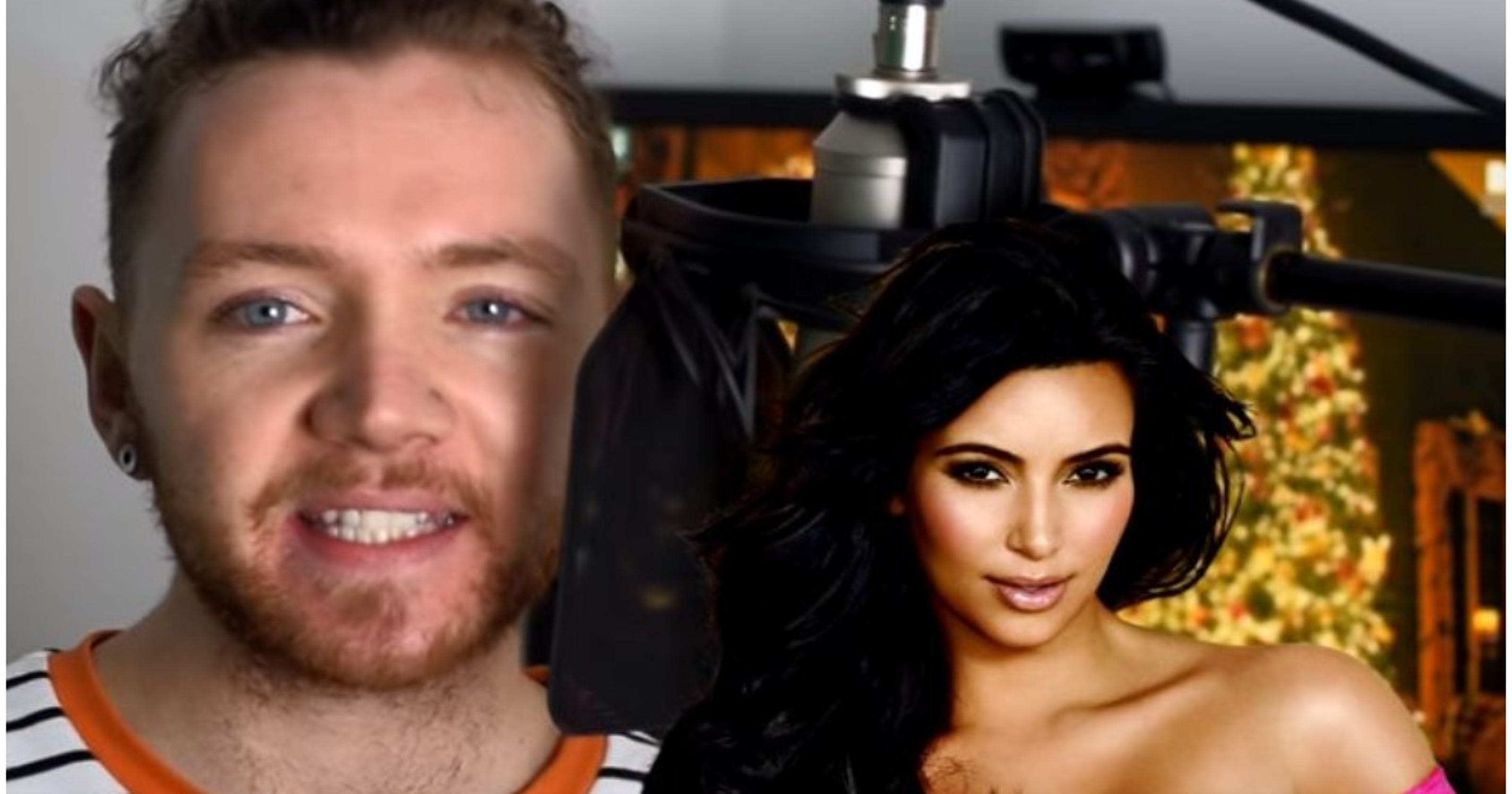 youtube impressionist reads night before christmas in hilarious celeb voices - Twas The Night Before Christmas Youtube