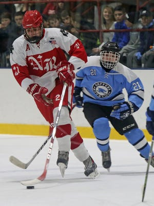 North Rockland defeats Suffern 3-2. during boys hockey at Sport O Rama in Monsey Jan. 16,  2017.