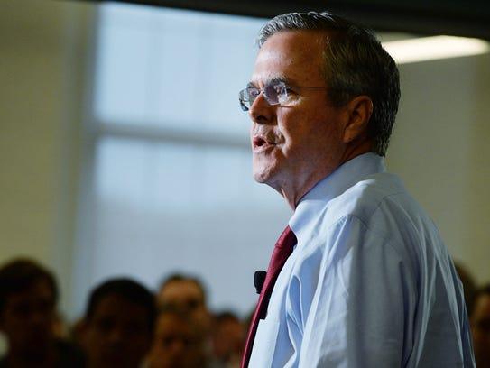 Former Florida Gov. Jeb Bush will speak Sept. 21 at