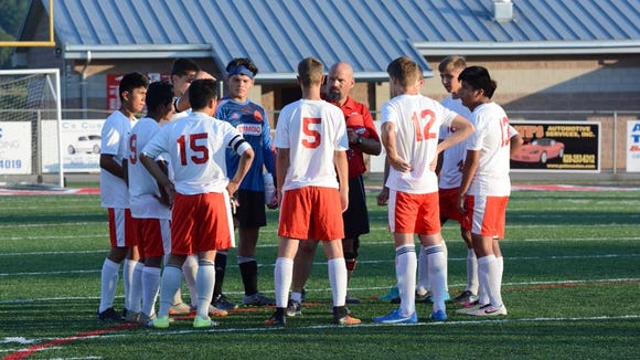 Erwin is the ninth-ranked team in NCHSAA 3-A soccer.