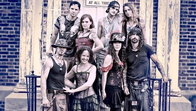 Celtic rock band Tuatha Dea, which got its start in weekly family drum circle, fuses Celtic sounds with Native American drum rhythms. Catch the group in concert June 15 at the Iron Horse Pub.