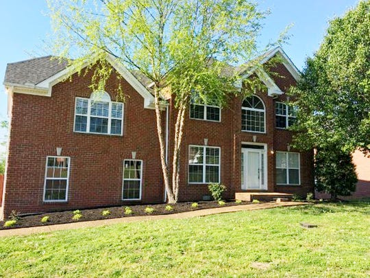 This house, at 141 Huntington Place in Hendersonville, was built in 1999 and has 2,458 square feet.
