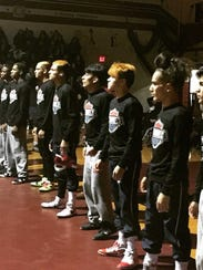 The Plainfield wrestling team won last weekend's NJUWL