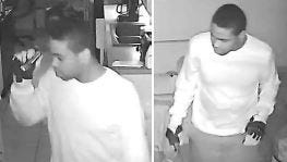 One of the burglary suspects in a Rockledge residence.