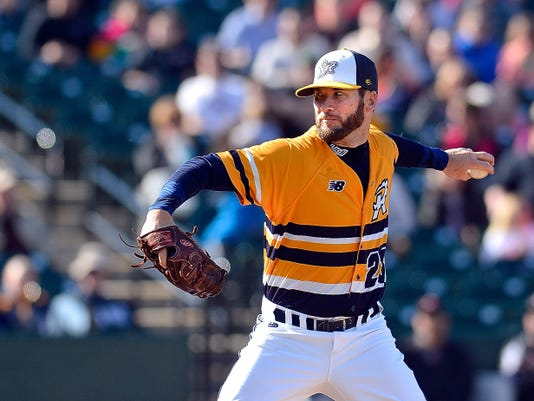 Logan Williamson pitched five effective innings for the York Revolution on Sunday night, giving up four hits and one run, but the Revs still lost to the Long Island Ducks, 5-2.