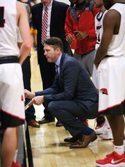 Scott Combs resigned as Martin Methodist's head basketball coach on Tuesday and accepted a position on the staff at Morehead State.