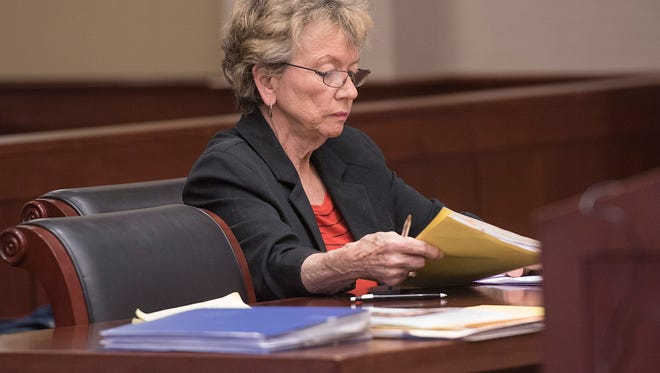 Defendant Mary Gabriel is guilty on all 4 counts of animal neglect.