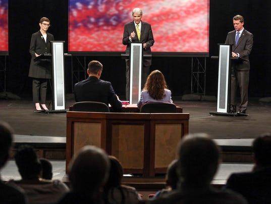 SC Democratic Governor debate at Clemson