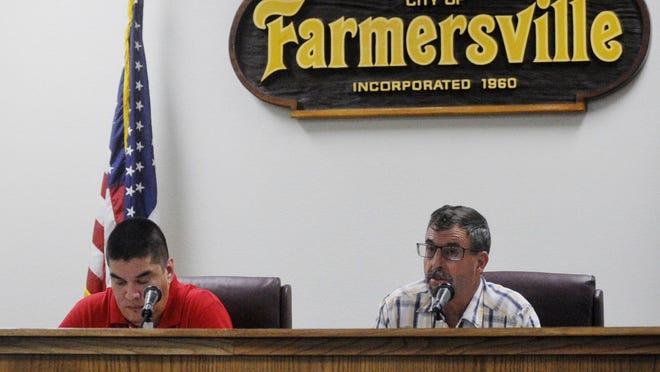 Farmersville city council approves 2018 budget.