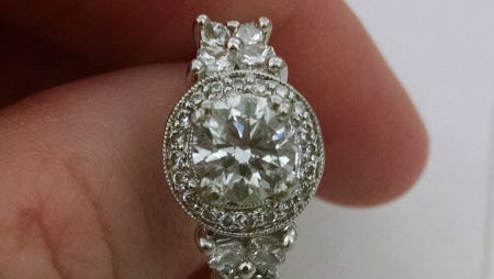 Franklin Police are still seeking the owner of a platinum diamond ring. A Good Samaritan brought it to police after finding it in a parking lot.