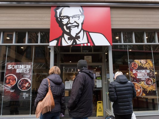 KFC Fast Food Restaurants Close After They Run Out Of Chicken