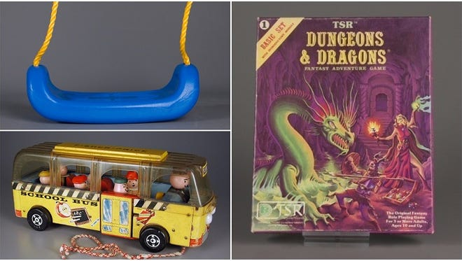 The swing, Dungeons & Dragons and Fisher-Price Little People are the 2016 inductees into the National Toy Hall of Fame.