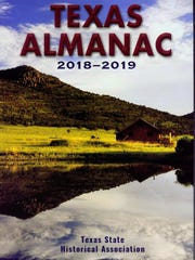 """Texas Almanac"" by the Texas State Historical Association"