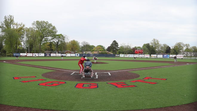 Grosse Pointe Woods University Liggett's new baseball field on Saturday in Grosse Pointe Woods.